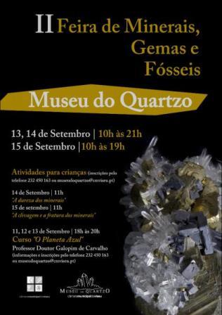Atividades no Museu do Quartzo- Viseu